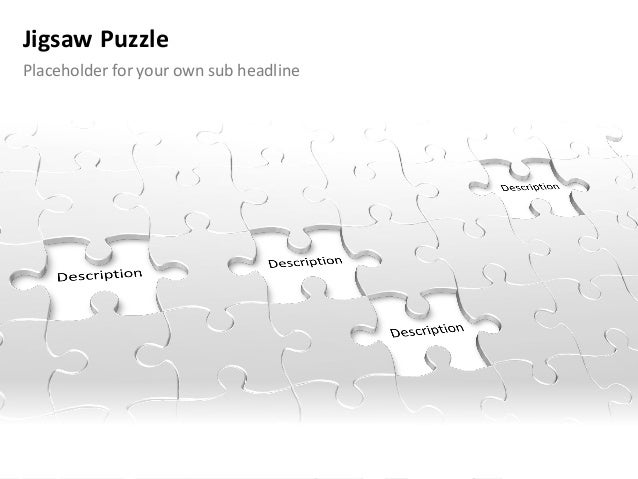 Powerpoint Puzzles Pieces Template