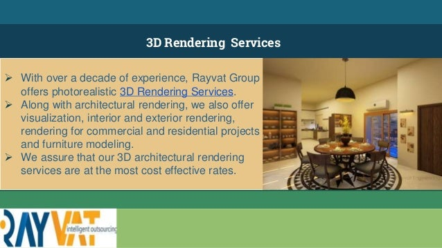 4. 3D Rendering Services ...