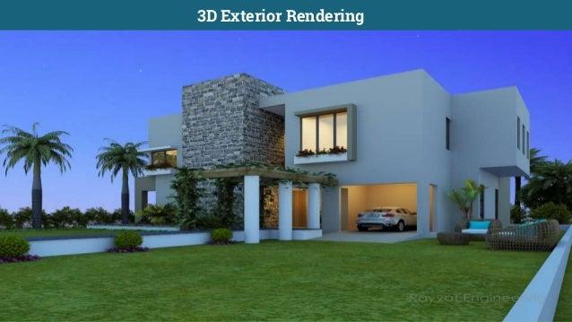 3D Living Room Interior Rendering; 7.