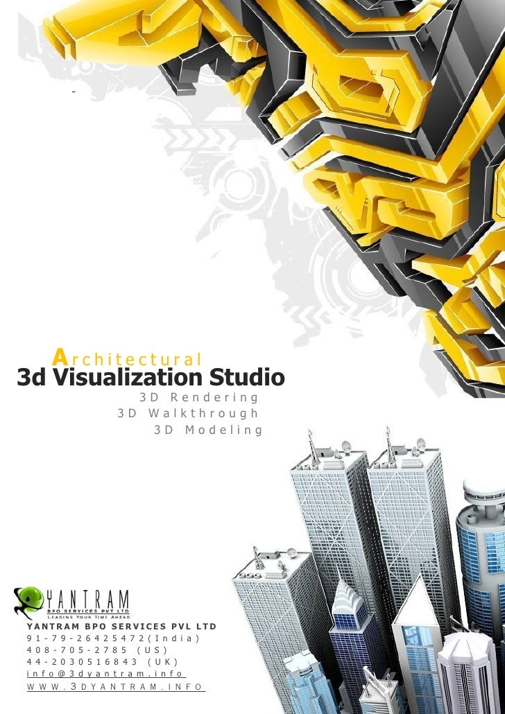 Architectural 3d Visualization Studio                      3D Rendering                    3D Walkthrough                 ...