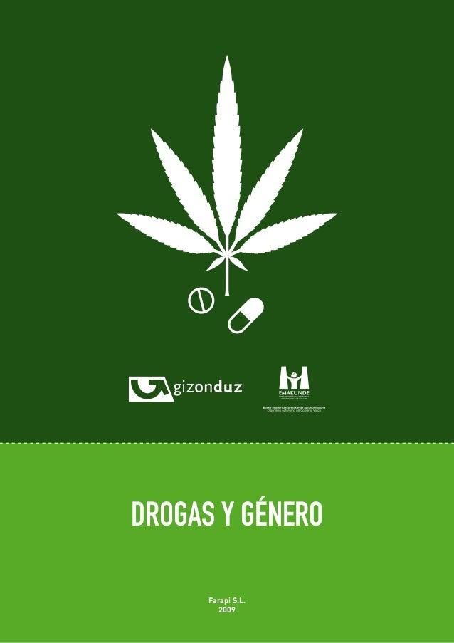 DROGAS Y GÉNERO  Farapi S.L.  2009  48