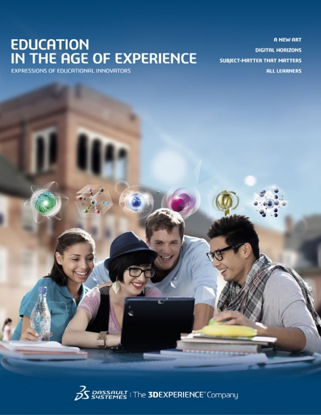 Shaping the New EXPERIENCE of Learning Across the globe, human ingenuity is transforming all dimensions of education. More...