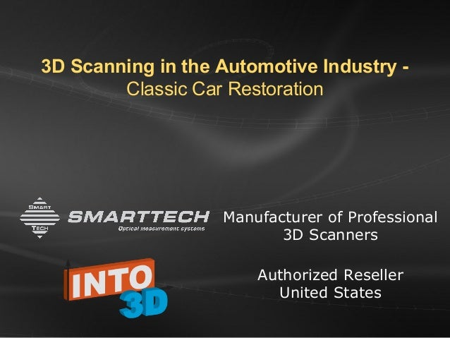 Reproducing Classic Car Parts with 3D Scanning