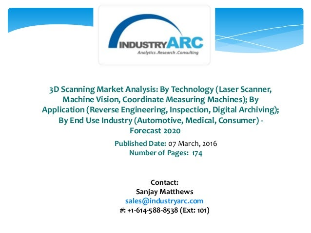 3d Scanning Market Analysis By Technology Laser Scanner
