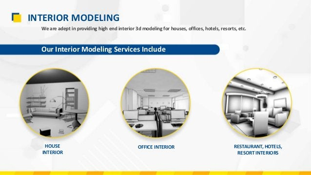 EXTERIOR MODELING Our Exterior Modeling Services Include COMMERCIAL BUILDINGS RESIDENTIAL BUILDINGS We provide exterior 3d...