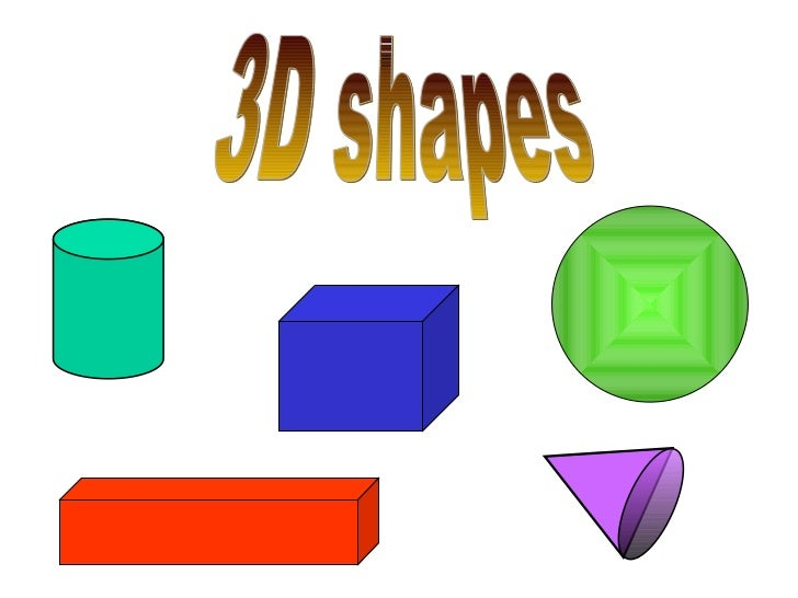 3d shapes How to make 3d shapes