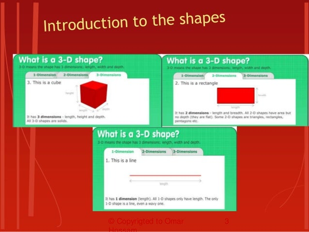 Anything has a dimension. Any shape has at least 1 dimension. 3-D = 3 Dimensions 2-D = 2 Dimensions 1-D = 1 Dimension Dime...