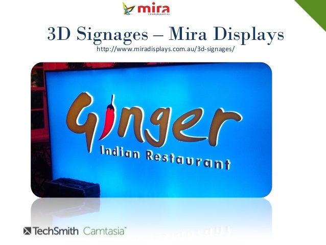 3D Signages – Mira Displays http://www.miradisplays.com.au/3d-signages/