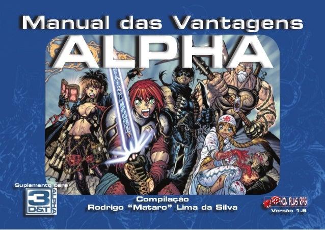 suplementos 3d&t alpha