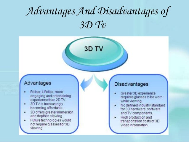 Advantages and disadvantage television
