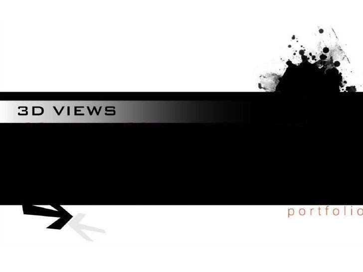 3d Views Portfolio