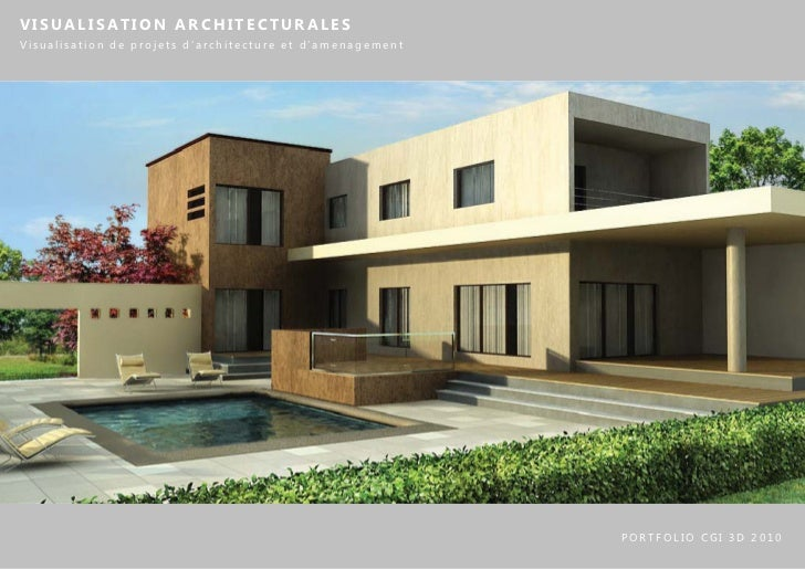 VISUALISATION ARCHITECTURALESVisualisation de projets d'architecture et d'amenagement                                     ...