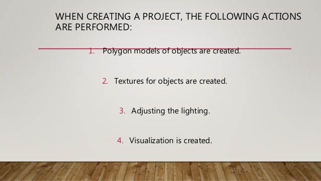 PROFESSIONAL 3D VISUALIZER COMBINES MANY QUALITIES • Spatial thinking, • Perseverance, • Attention to the details. • If yo...