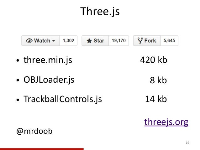 Three.js 19 • three.min.js                              420 kb  • OBJLoader.js      ...