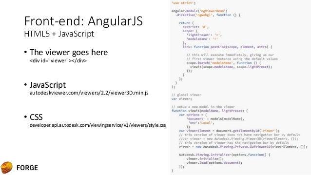 3d web powered by NodeJS & AngularJS