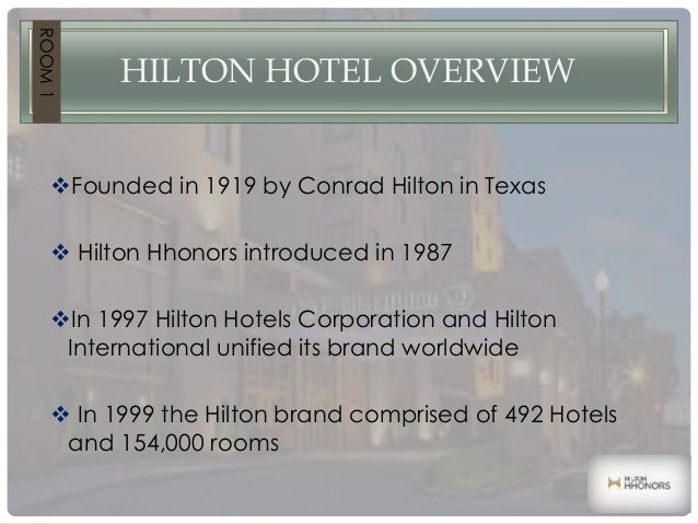 Hilton power point presentation 1 for What hotel chains does hilton own