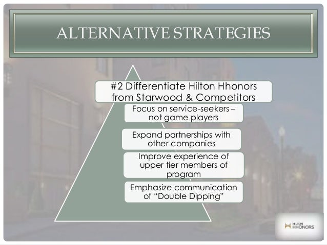 hilton hhonors loyalty wars case study Hilton hhonors worldwide: loyalty wars is a harvard business (hbr) case study on sales & marketing , fern fort university provides hbr case study assignment help for just $11 our case.