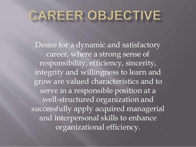 career objective  self assessment  u0026 summary linkedin