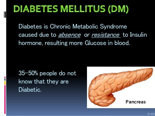 a look at the disease diabetes mellitus Goalreduce the disease burden of diabetes mellitus (dm) and improve the quality of life for all persons who have, or are at risk for, dm.