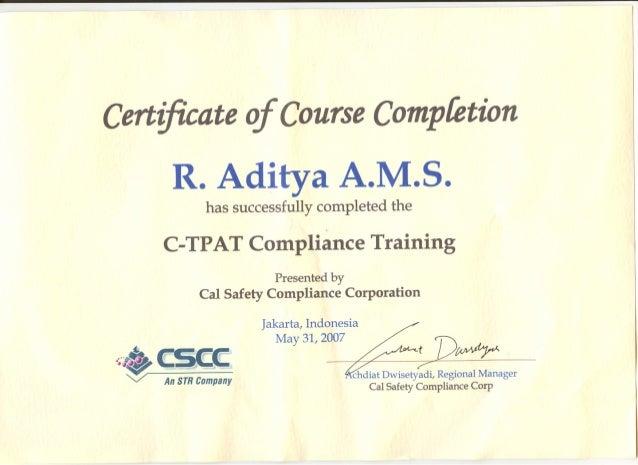 certificate c-tpat