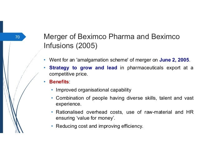 Presentation on Beximco Pharmaceuticals Ltd