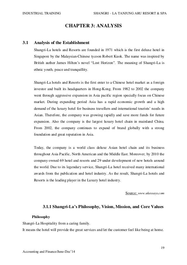 shagri la advertisement analysis Section a 10 introduction the hong kong-based shangri-la hotels and   a competitor analysis carried out by ana harbour grand hotel showed it was   aggressive public relations and advertising campaigns: shangri-la has used .