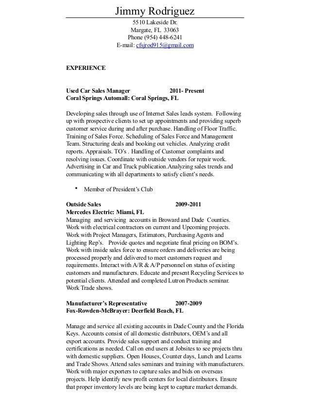 current resume 2
