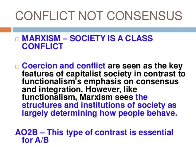 assess the usefulness of consensus approaches Extracts from this document introduction kat quantrill 1207 sociology homework mrs stewart assess the usefulness of consensus theories for an understanding of crime and deviance in.