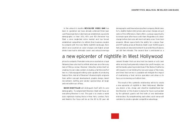 Bank Nightclub Initial Design Explorations