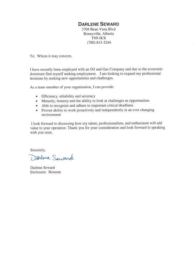 Darlene Seward Resume