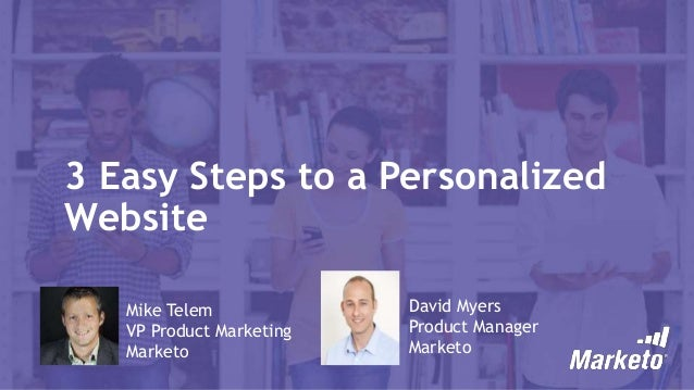 3 Easy Steps to a Personalized Website