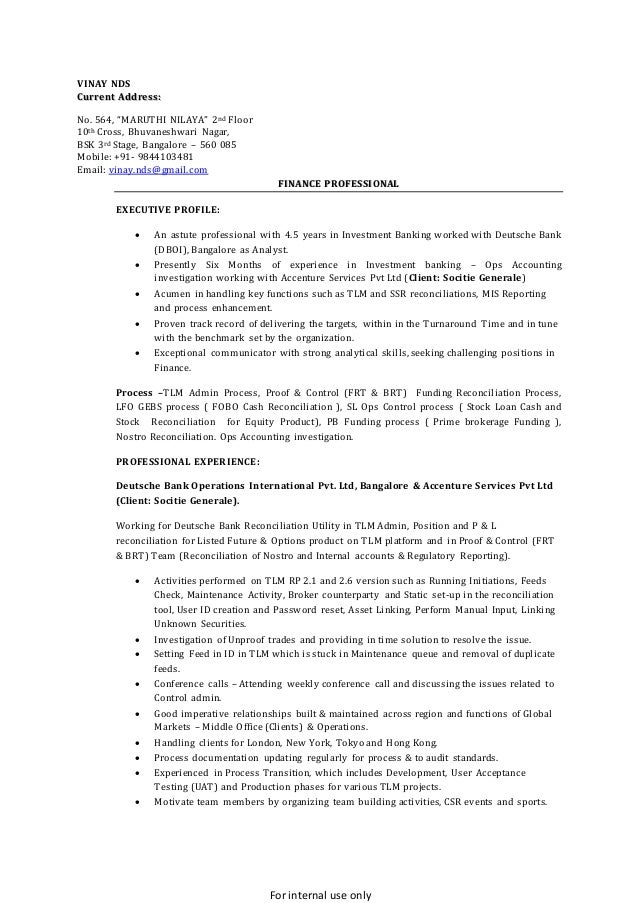 Bank platform resume how to write a cover letter for acting agencies
