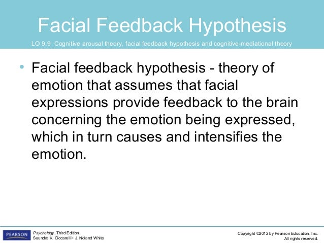 Facial feedback theory of emotion 7