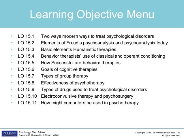 PSYC1101 Chapter 15 PowerPoint Slide 2