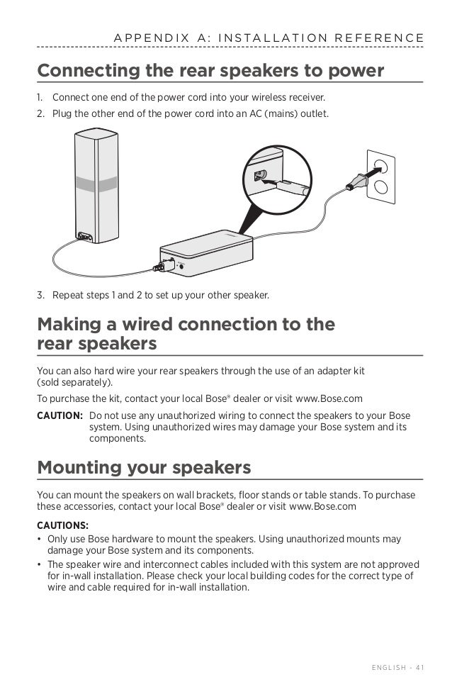 Comfortable 5 1 Bose Speakers System Wiring Diagram Ideas ...
