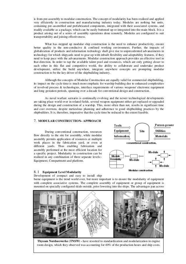 Ravi Chakervarti Paper On Modular Construction