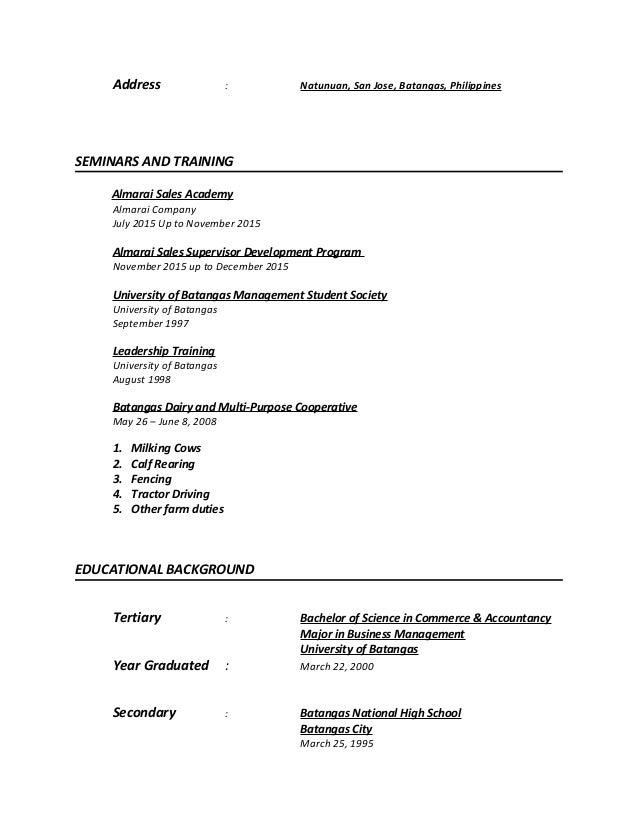 Alexander Jobog Resume