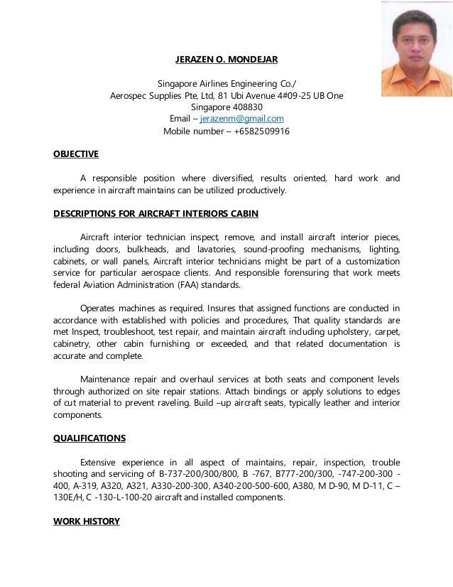 jeraz cabin resume