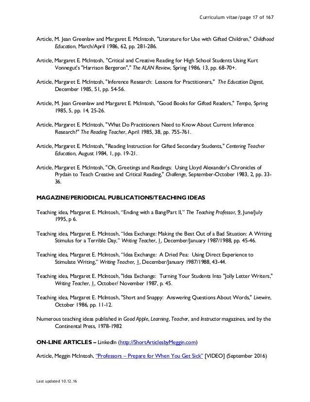 Meggin mcintosh phd curriculum vitae updated 10 24 16 17 fandeluxe Choice Image