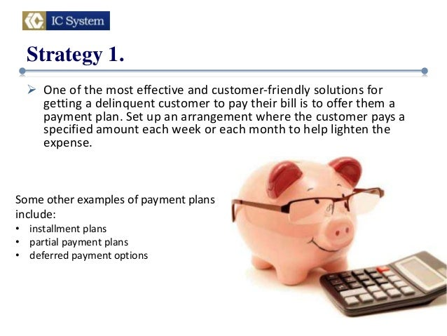debt collector payment plan