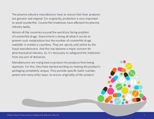 23 Effective Ways for Pharma Industry to Safeguard the Medicines in Real Time The pharma industry manufacturer have to ens...