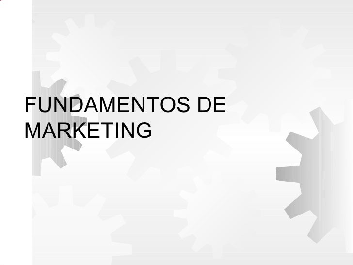 Picture 10             FUNDAMENTOS DE             MARKETING