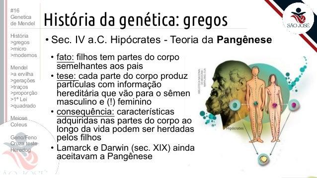 3EM #16 Genetica de Mendel (2016) Slide 3