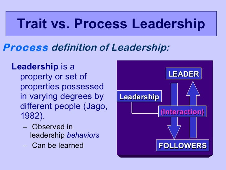 assigned versus emergent leadership This study examined the relationships between group goal setting and the emergence of leadership specifically, groups were assigned either group goals, individual.