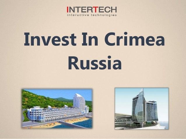 Invest In Crimea Russia