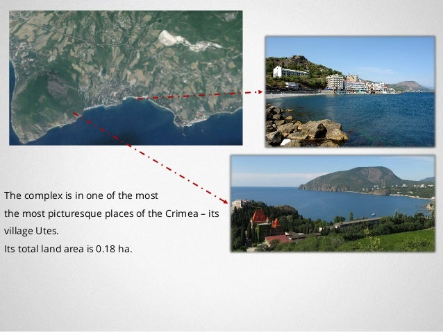 Investment Project: Cottage settlement in the city of Yalta Moscow 2017