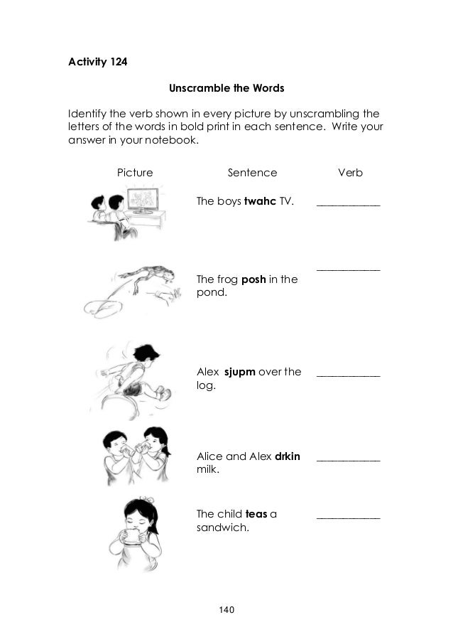 Printable Worksheets jonah and the whale worksheets : english grade 3 learners manual quarter 2