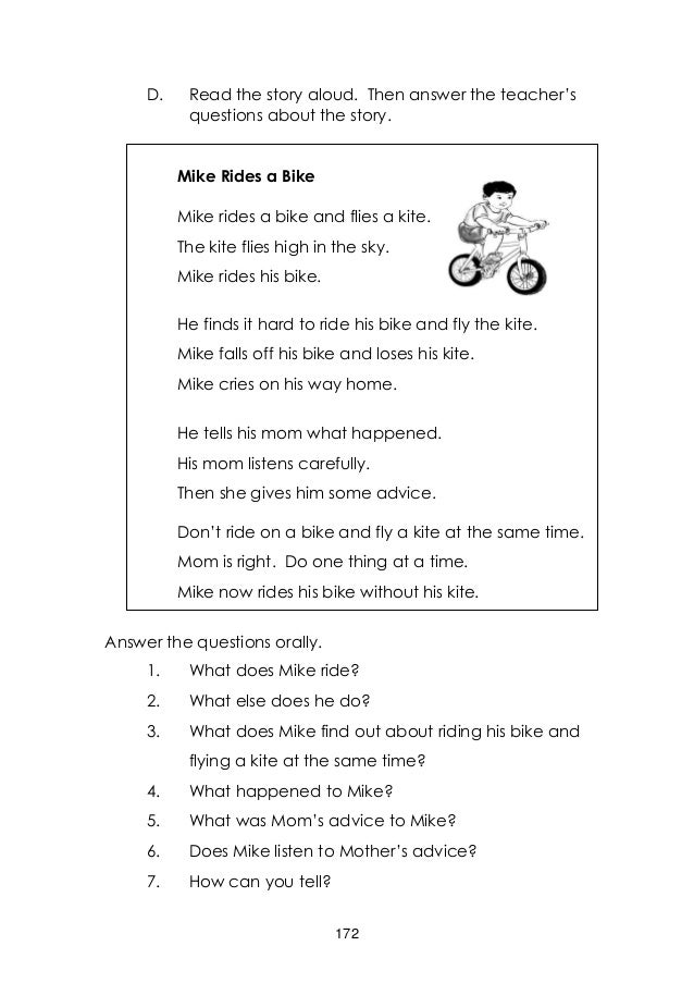 Worksheets Story For Grade 3 english grade 3 learners manual quarter 2 65