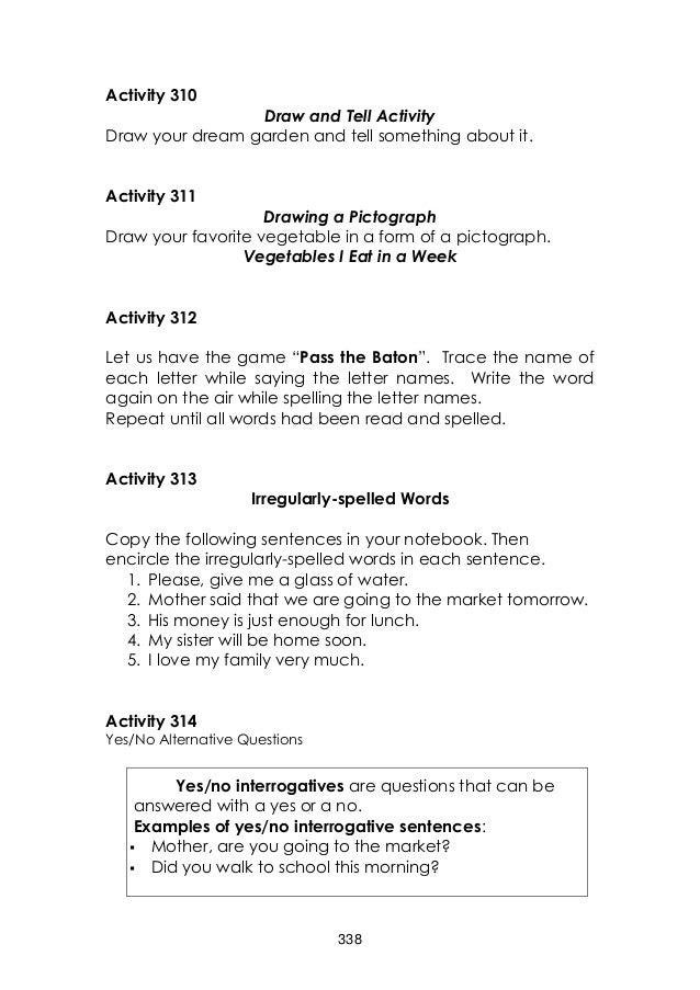 english grade 3 learner's manual unit 4