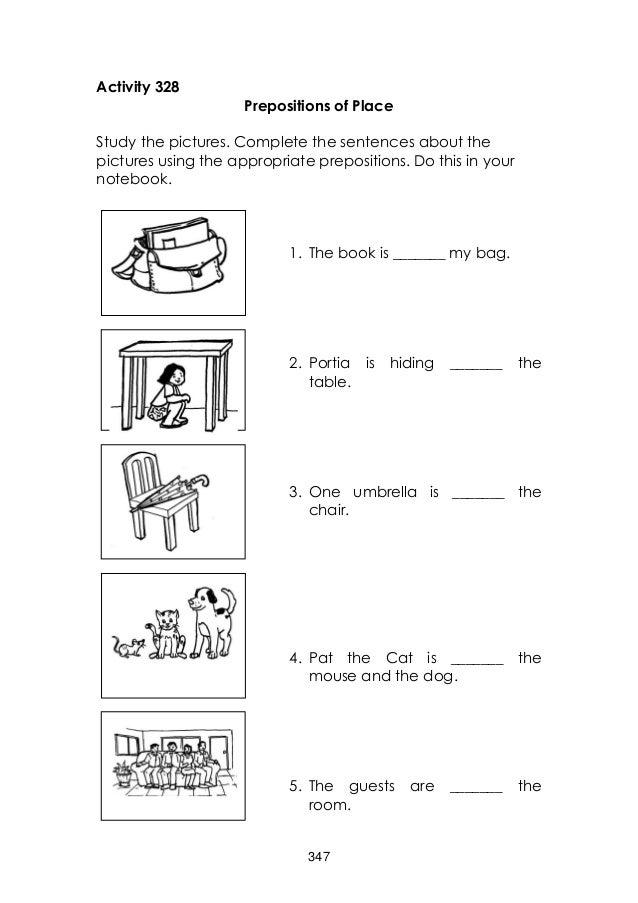 English Grade 3 Learners Manual Unit 4